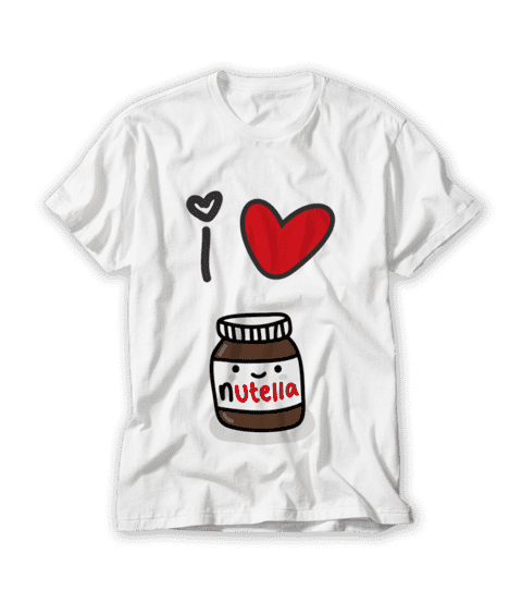 Camiseta I Love Nutella