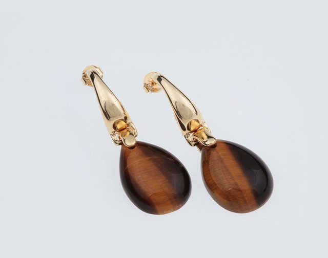 tiger-eye-earring