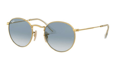 Óculos de Sol Ray Ban  ROUND FLAT  RB3447NL 001/3F GOLD 53