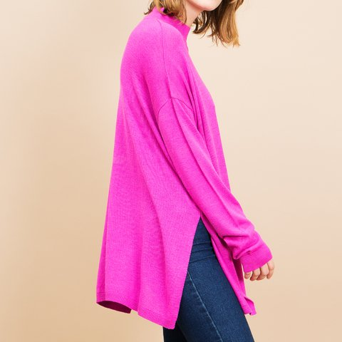 SWEATER ZEPELIN FUCSIA