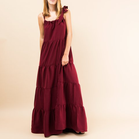 VESTIDO PARIS BORDEAUX