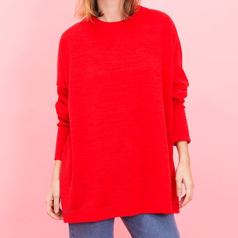 SWEATER CUMBIA ROJO
