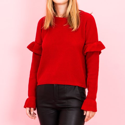 SWEATER FLY ROJO