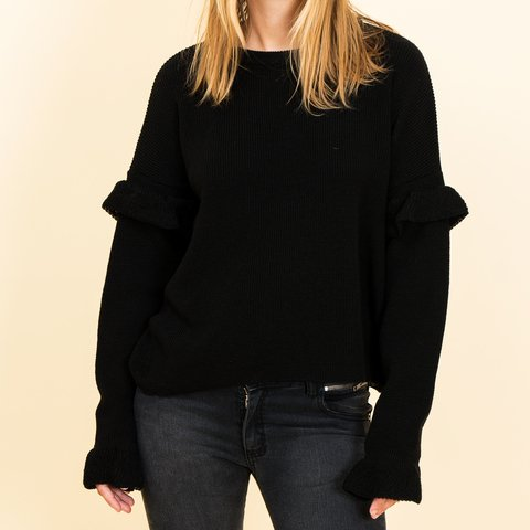 SWEATER FLY NEGRO