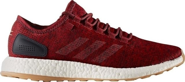 Adidas Pre Boost Burgundy Red