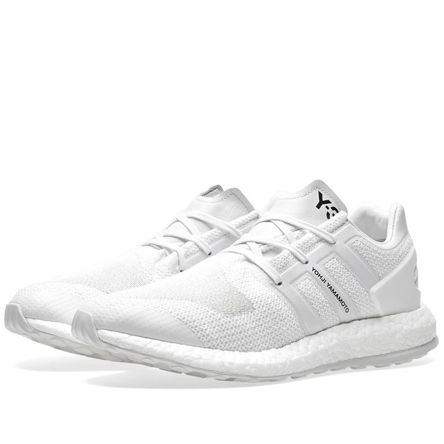 Adidas Y3 Pure Boost Triple White