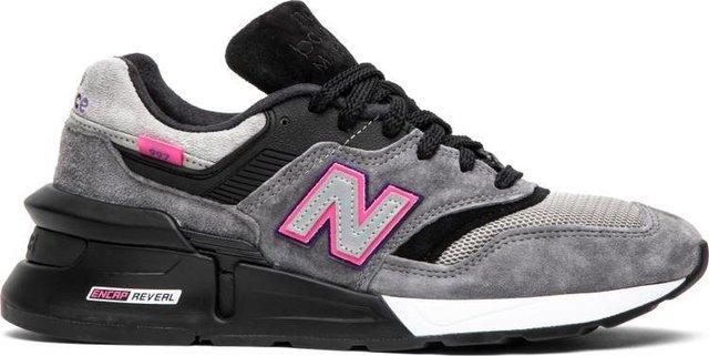 promo code b52e2 00415 KITH x United Arrows & Sons x nonnative x 997S Fusion Grey Black