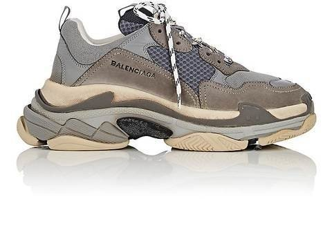 Triple S Sneakers / Grey
