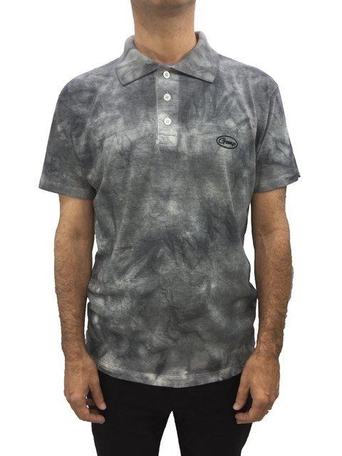 3269257a0c camisa masculina gola polo gomp malha algodão estonada manga curta cinza  101689