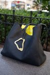 Cartera Clam Negra