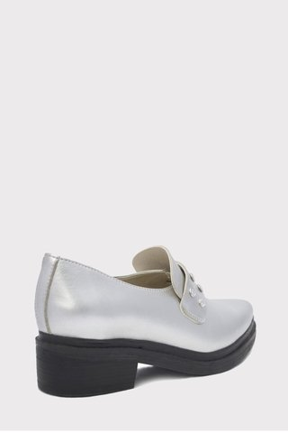Mocasin Shine Plata - Ana Gray