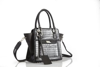 Cartera Oxford Negra - Ana Gray