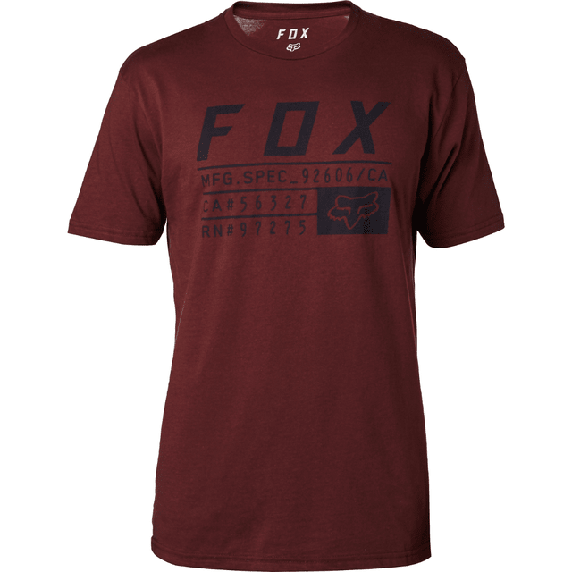 Remera - FOX - Abyssmal SS - Bordó