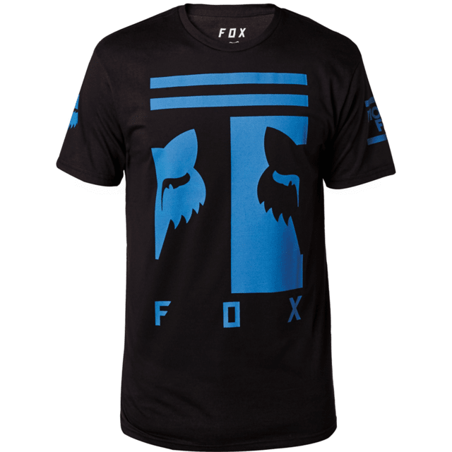 Remera - FOX - Connector SS - Negro