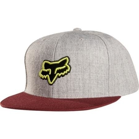 Gorra - FOX - Plodding Snapback - Gris/Bordó