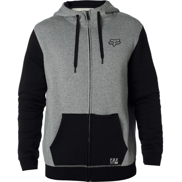 Campera - Fox - Win Mob - Gris/Negro