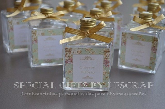 DIFUSOR DE AMBIENTE CUBO 100ML - 10 UNIDADES - lembrancinhas personalizadas Gifts for a Special Occasion