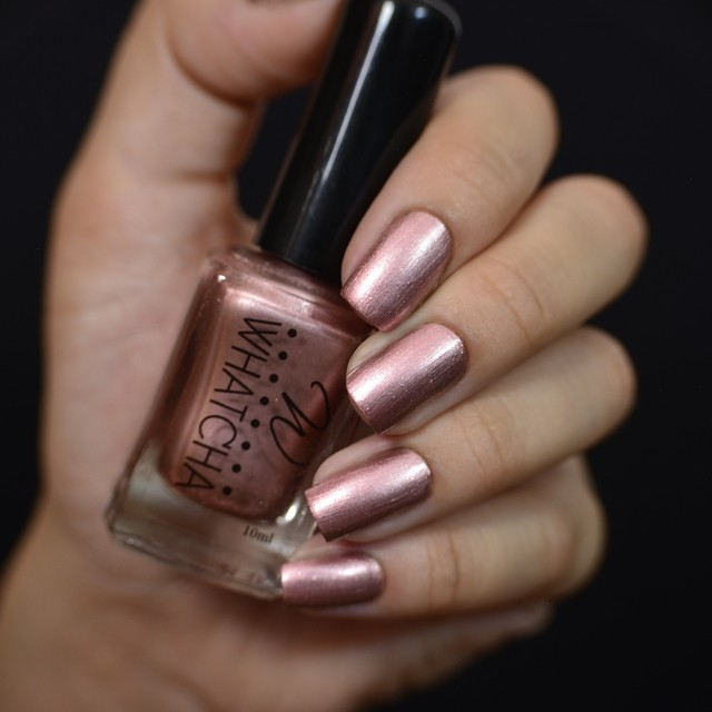 Rose Gold Satin