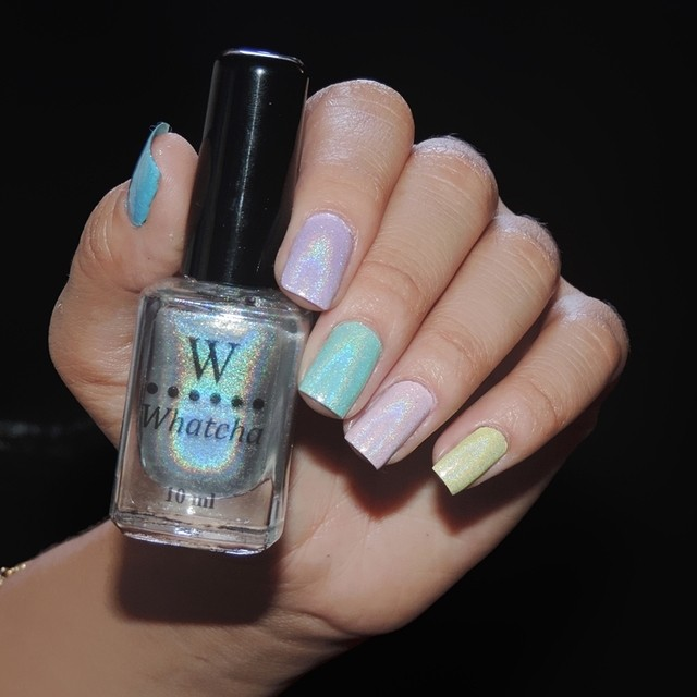 Top Coat Holográfico