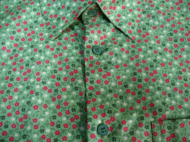 Camisa Green Flowers na internet