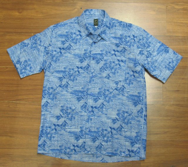 Camisa BLue Leaves - comprar online