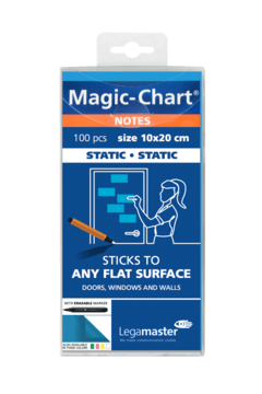 Magic-chart notes blue/100