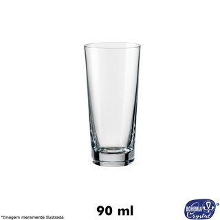 Copo Cristal Vodka 90 ml - Bohemia