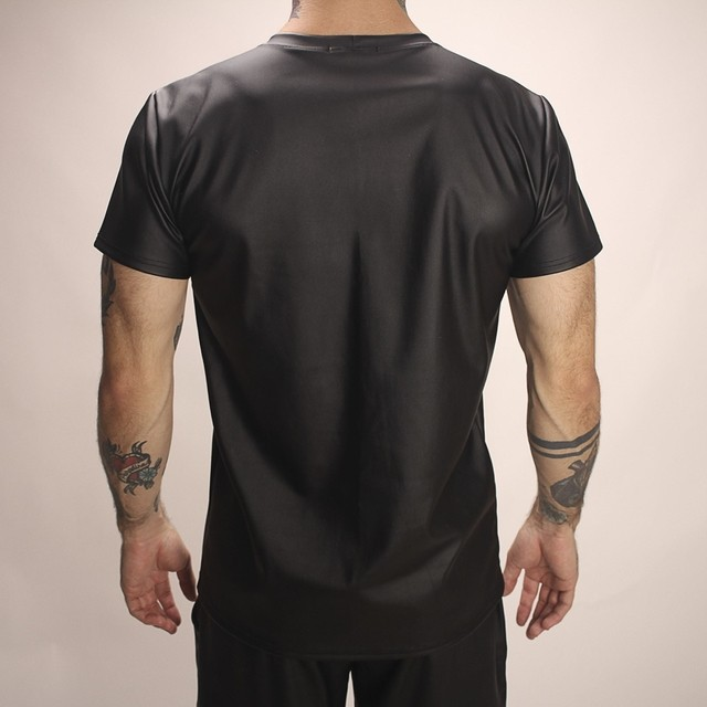 T-Shirt Leather - comprar online