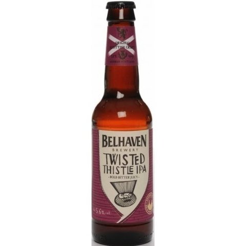 BELHAVEN TWISTED THISTLE IPA 330 CC