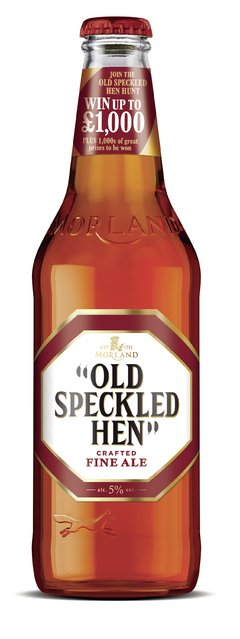 OLD SPECKLED HEN BTL 550 CC