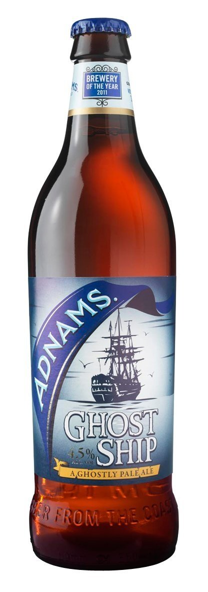ADNAMS GHOST SHIP PALE ALE BOTELLA 500 CC