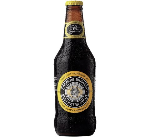 Coopers best extra stout 375 cc