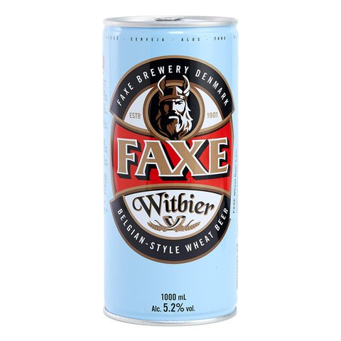 faxe witbier 1000 cc