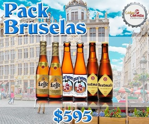 PACK BRUSELAS