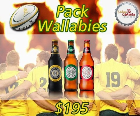 PACK WALLABIES