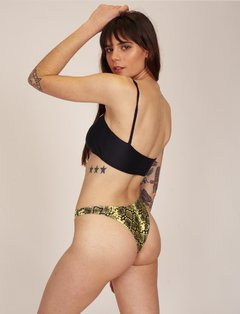VEDETINA DAISY YELLOW SNAKE - Bikinis My Fair