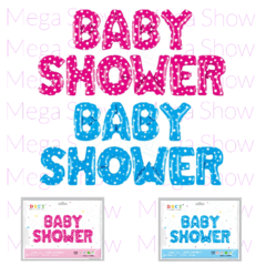 "Globo Set Baby Shower 16"" - Promo x 10 Sets"