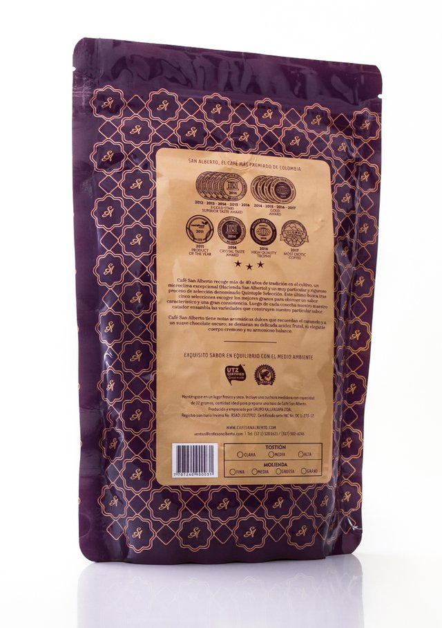 San Alberto Coffee 340 grams (12oz) - Dark Roast - Ground - buy online