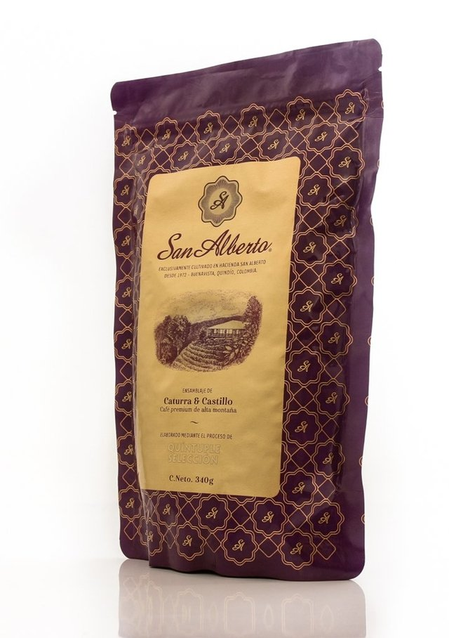 San Alberto Coffee 340 grams (12oz) - Medium Roast - Ground on internet