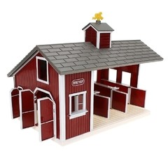 Kit Stablemates Cocheira Red Stable Set - Breyer - Bovitik Farm & Ranch