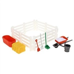 Kit Stamblemates Trator da Fazenda  - Breyer - Bovitik Farm & Ranch