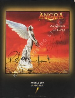 Angra - Angels Cry (Songbook Autografado)