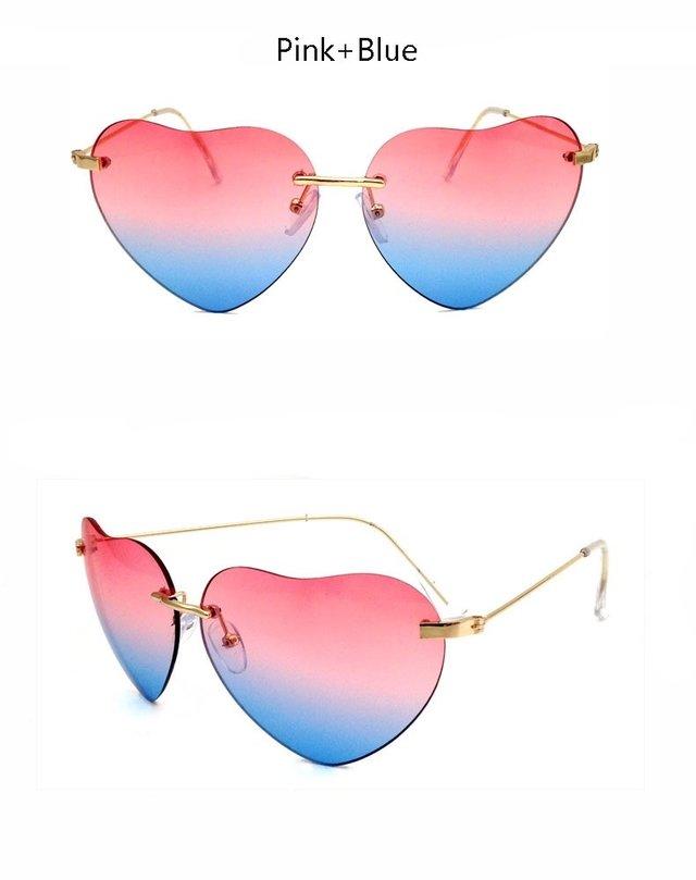 ... Imagem do Óculos de Sol Feminino Formato Coração - Luxo 2016 2017 37207a0f06