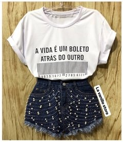 T- Shirt Boleto