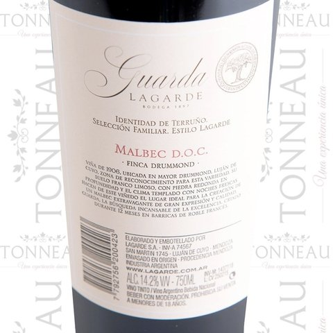 Lagarde - Guarda 2013 Malbec DOC en internet