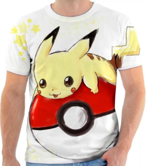 Camiseta Pokemon - Pikachu 04