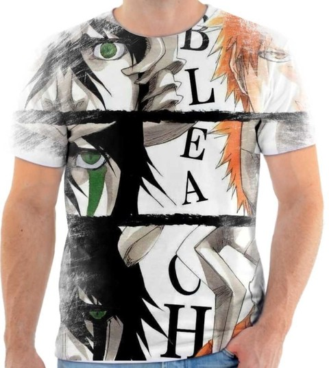 camiseta - Bleach 08