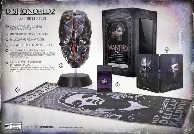 [PRE-ORDER] Dishonored 2 Collector's Edition