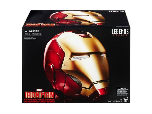 [PRE-ORDER] Marvel Legends Iron Man Helmet - SWToys Argentina