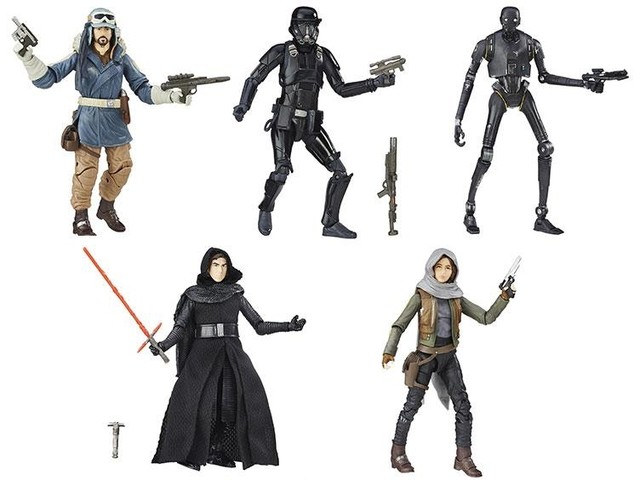 [PRE-ORDER] The Black Series - Rogue One WAVE COMPLETA
